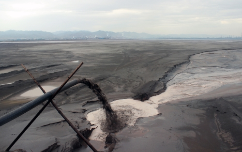 worlds-largest-rare-earth-mineral-refinery_radioactive-waste-lake_03_liam-young