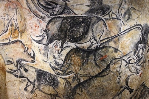 Chauvet cave, Ardèche, France / Photo: Claude Valette